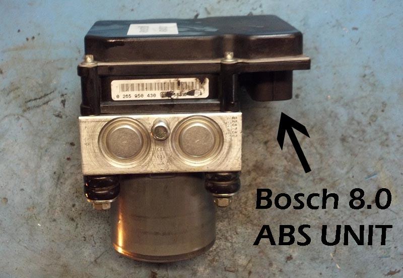 05 06 Audi A6 ABS Module 4F0910517L 4F0614517L Exchange